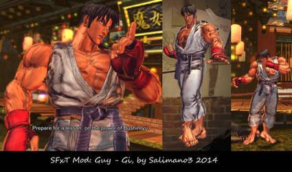 SFxT Mod: Guy - Gi by repinscourge