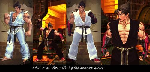 SFxT Mod: Jin - Gi by repinscourge