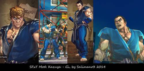 SFxT Mod: Kazuya - Gi by repinscourge