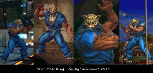 SFxT Mod: King - Gi by repinscourge