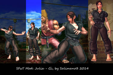 SFxT Mod: Julia - Gi by repinscourge