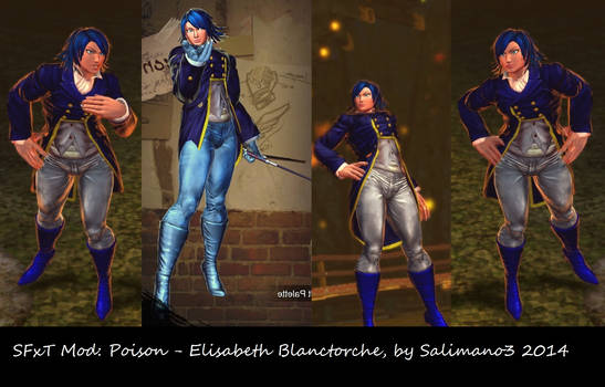 SFxT Mod: Poison - Elisabeth Blanctorche by repinscourge