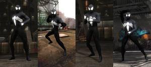 DOA5LR Mod: Spider-Man Symbiote