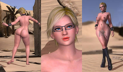 DOA5LR Mod: Carrie Fulton v.2 (NSFW) by repinscourge