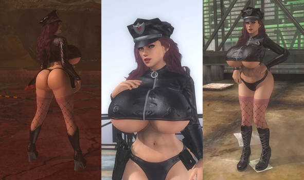 DOA5LR Mod: Officer Juggs Uniform