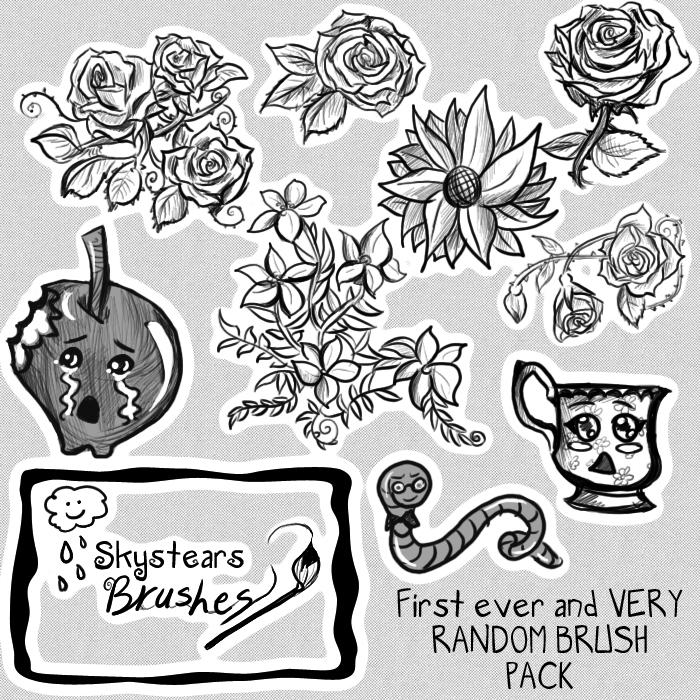 Skys Random Brush pack by skystears