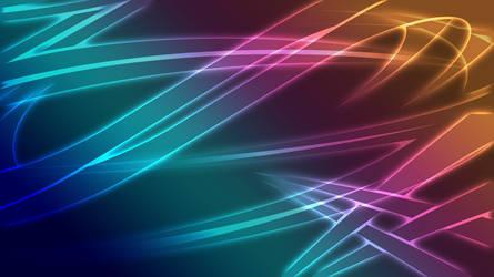 NoLogo Abstract Glow Wallpaper