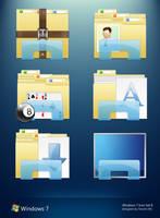 Windows 7 Folder Icons II by 2Shi