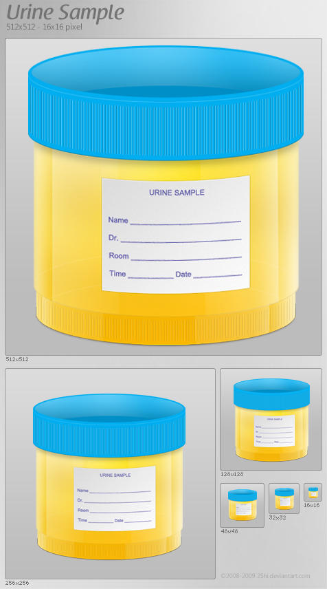 Urine Sample Icon