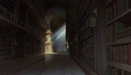 The Dragon Prince Library by eeliskyttanen