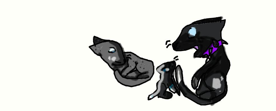Scourge and ashfur kits