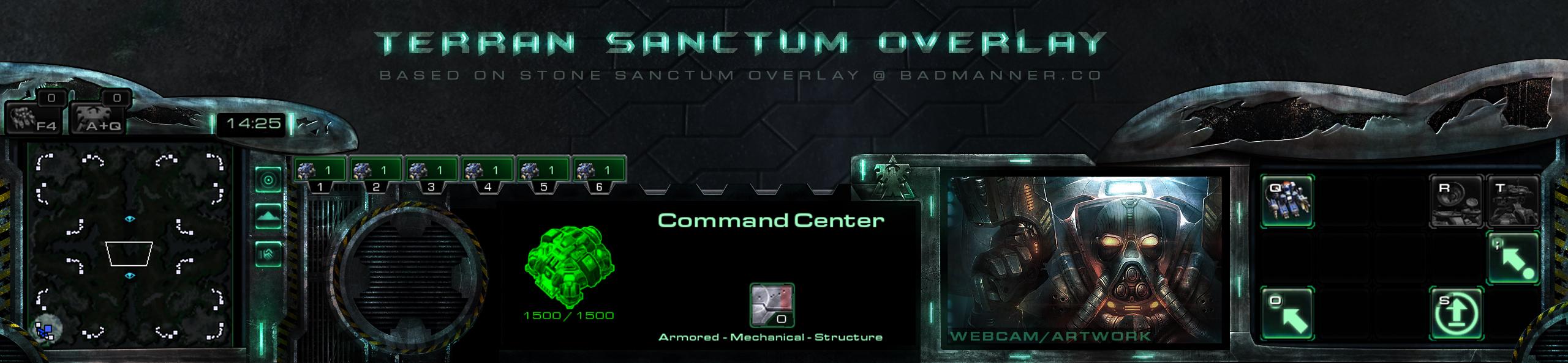 Terran Sanctum (Stone Sanctum design extension) by Dexistor371