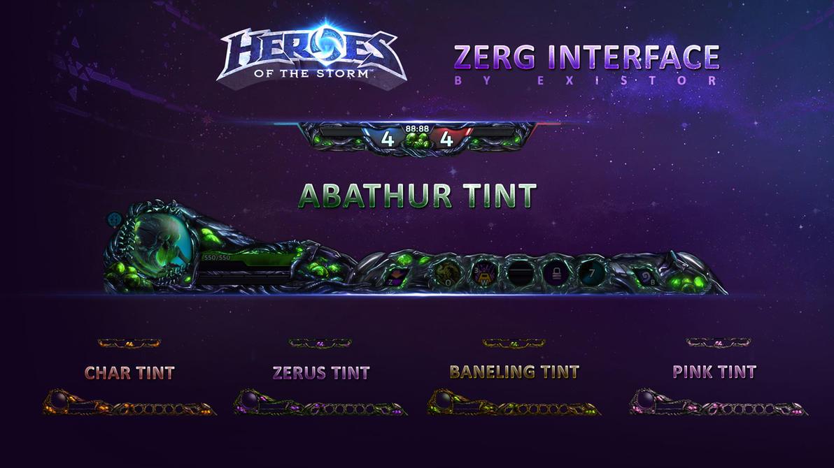 Zerg HUD - HOTS Overlay by Dexistor371