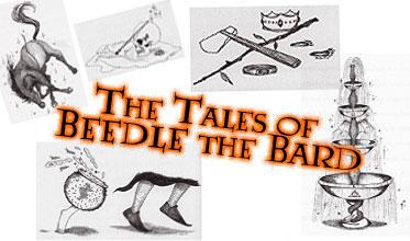 The Tales of Beedle the Bard by Jisatsu-Saakuru
