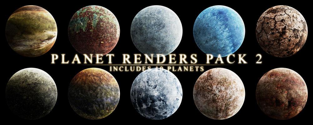 planetrenderspack-2 by ocd1c-stock