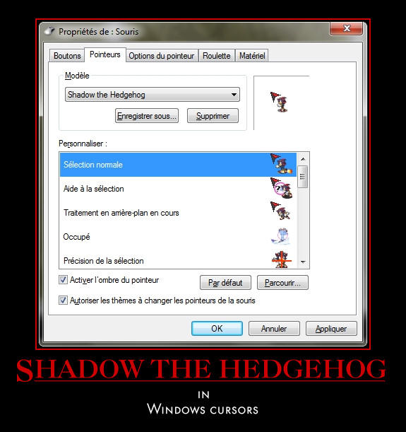 Shadow Cursors by SpringsTS