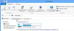 QTTabBar - Ribbon theme - Windows 8 / 8.1
