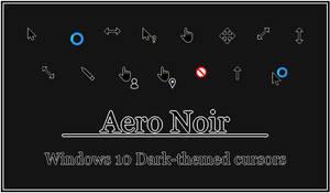 Aero Noir - Windows 10 Cursors