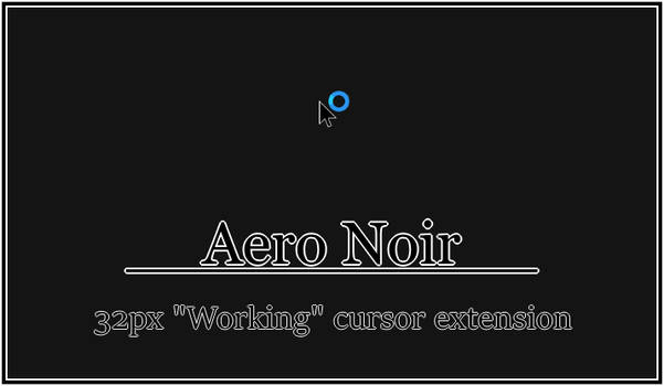 Aero Noir - 32px Working extension