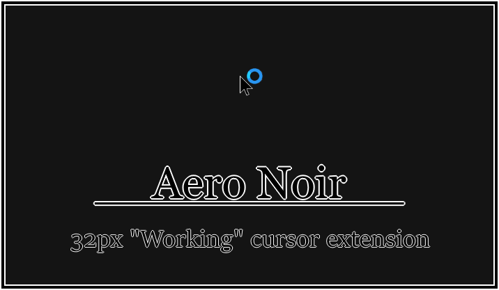 Aero Noir - 32px Working extension by SpringsTS