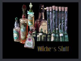 Witches Stuff Pack Png by ElisabetCavalcabue