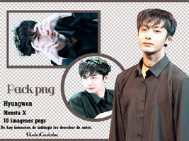 Pack png Monsta X -Hyungwon- by ElisabetCavalcabue