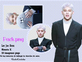 Pack png Monsta X -Lee Joo Heon- by ElisabetCavalcabue