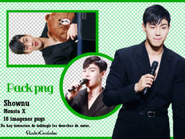 Pack png Monsta X -Shownu- by ElisabetCavalcabue
