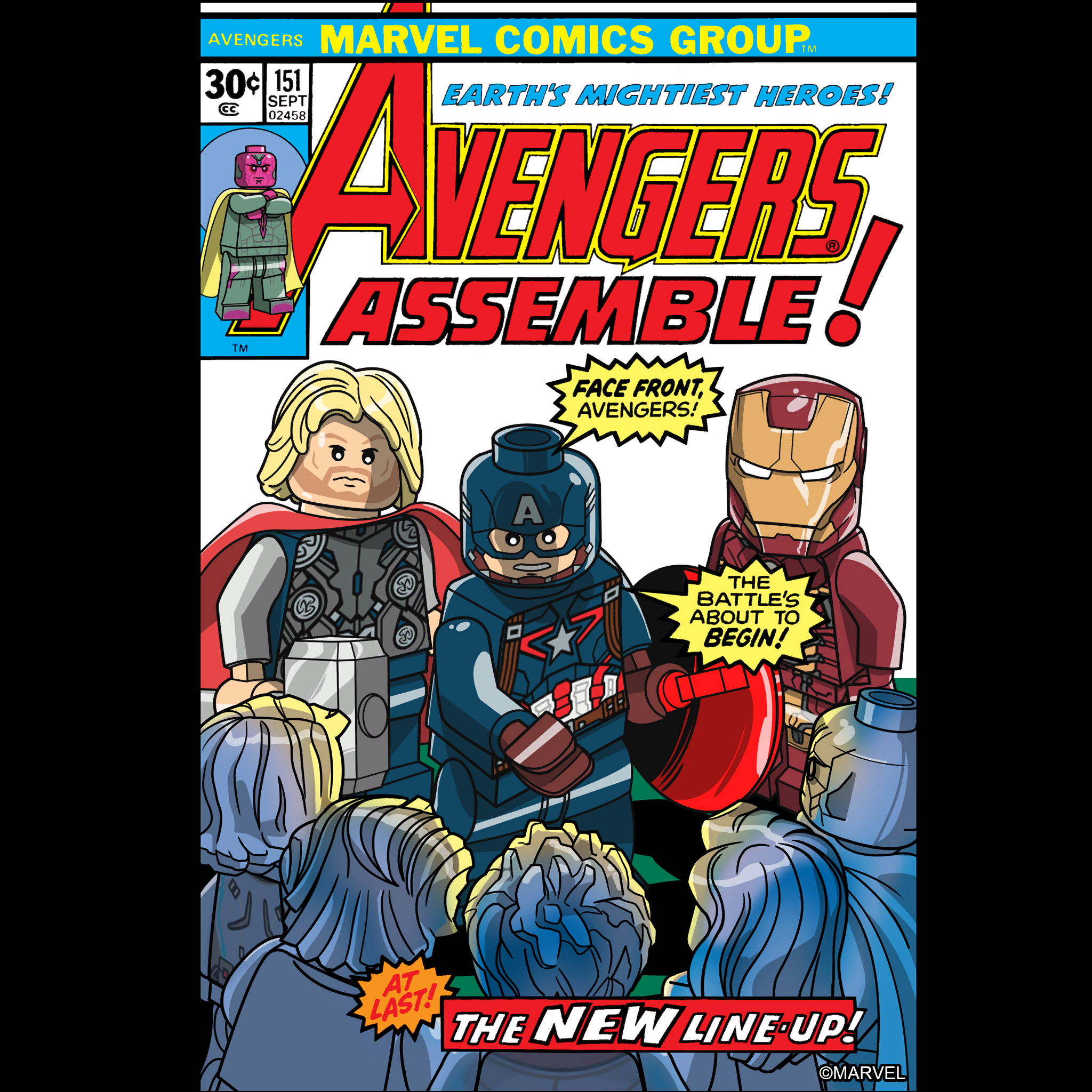 Lego Marvel's Avengers - Comic Book Covers by Iscreamer1 ...