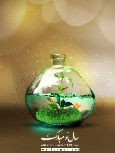 Happy Nowruz 1389 by alikarimi