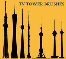 TV Tower Brushes