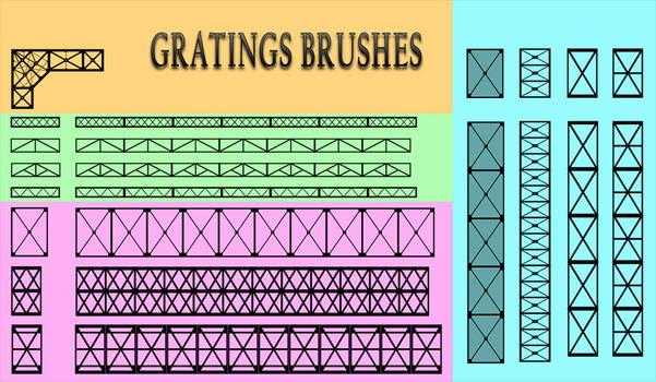 Gratings Brushes