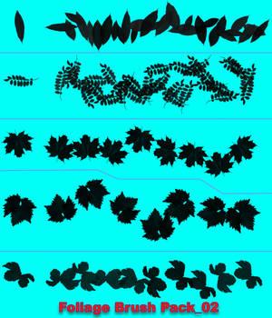 Foliage Brush Pack 02