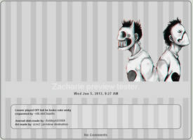 Journal skin: Zacharie (OFF)