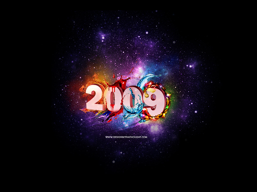 2009 Wallpaper - flyer artwork