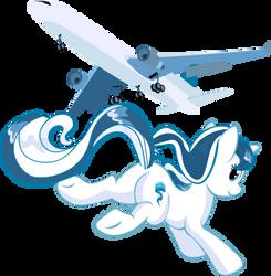 Aurora - Airplane by Rariedash