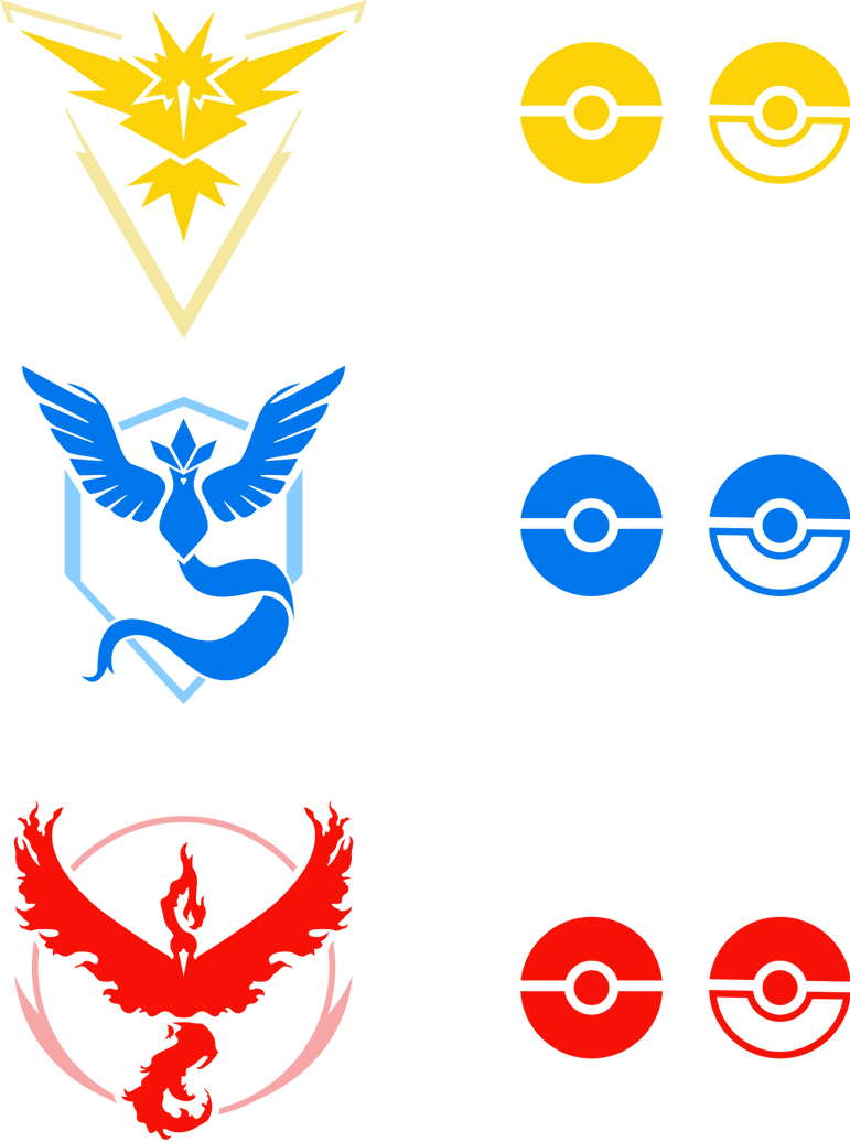 Pokemon Go Team Logos 622013968