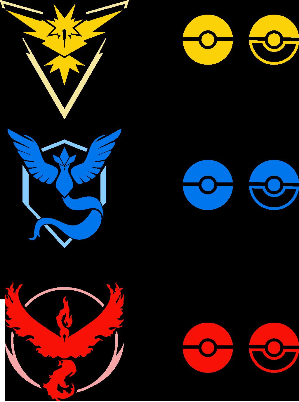 Pokemon Go Team Logos 622013968