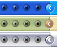 Transparent Buttons for Winamp by awmvannierop