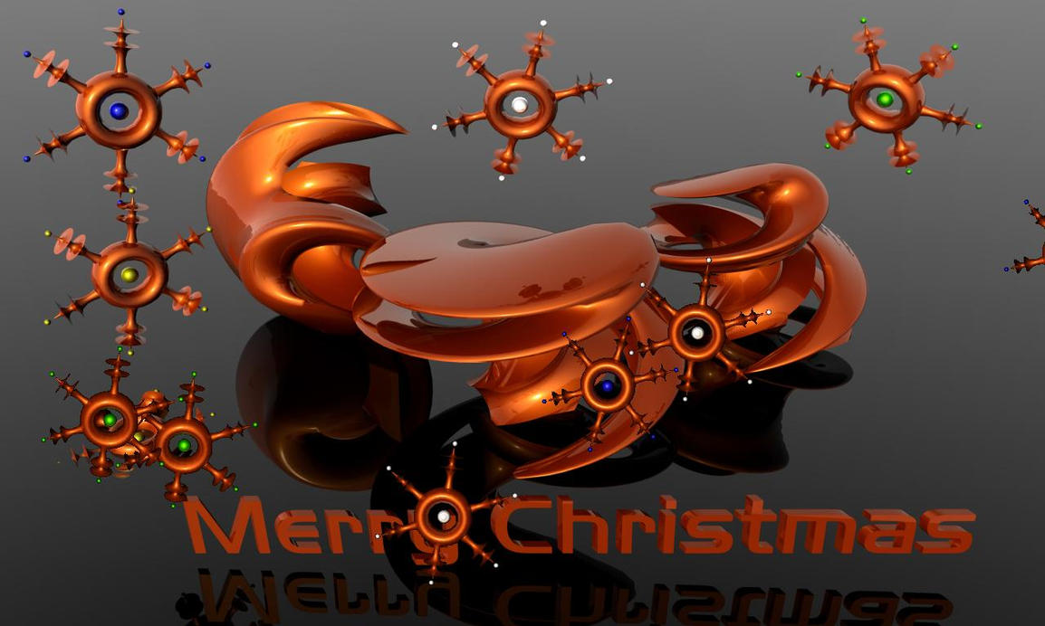 3d Christmas Screensaver by ShippD