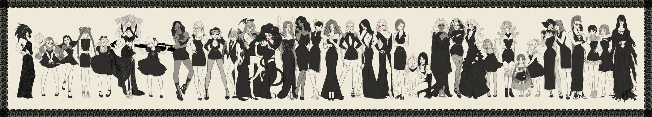 Marvel VS Capcom Ladies..