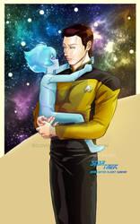 Star Trek - TNG Data and Adam