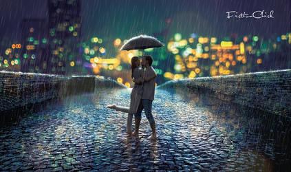 Rain or Shine by FictionChick