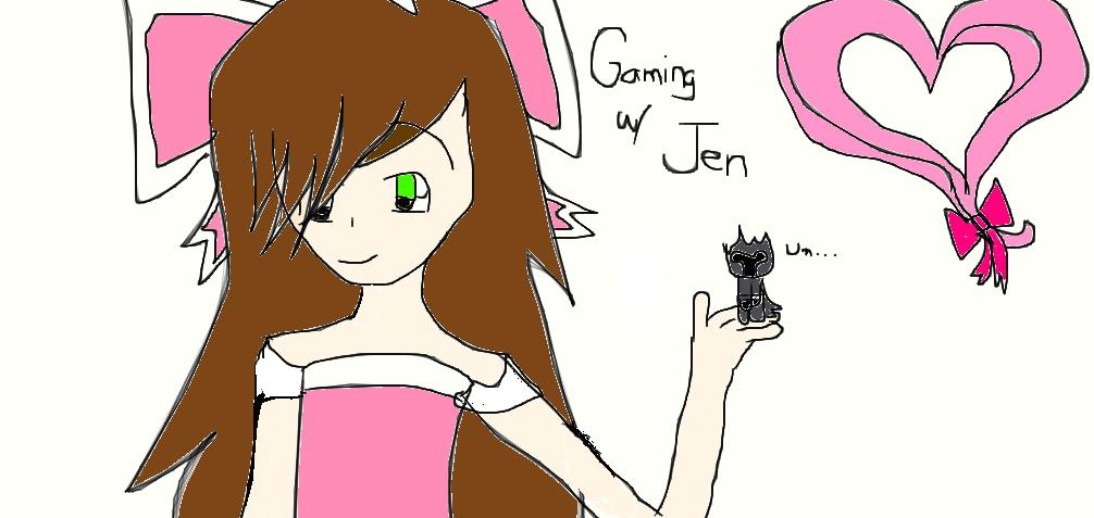 Gaming With Jen By Agsagpang On Deviantart