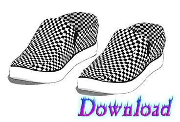 DOWNLOAD: Shoes - Sneaker Style 1 by DisastrousBunny