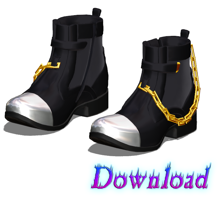 DOWNLOAD: Shoes - Boots Style 1 by SkinnyMandria
