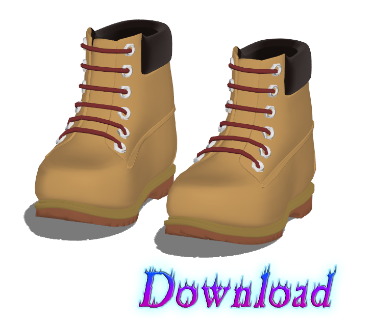 DOWNLOAD: Shoes - Boots Style 2 by SkinnyMandria