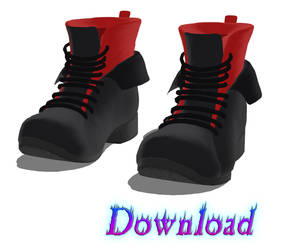 DOWNLOAD: Shoes - Boots Style 3 by DisastrousBunny