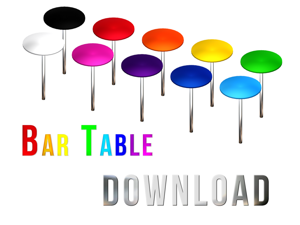 DOWNLOAD: Bar Table by DisastrousBunny