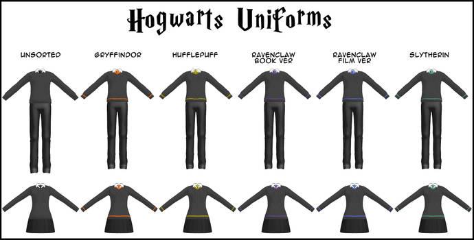 DOWNLOAD: Hogwarts Uniforms